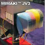 Mimaki JV3 Bulk Ink System (6-color)