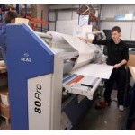 "Seal 80 Pro dual-heated, 80"" wide mounter, laminator and encapsulator"